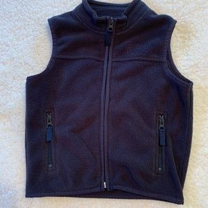 Baby Gap Fleece Vest-Size 2T